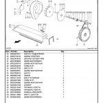 Пример каталога запчастей Клаас Лексион 460